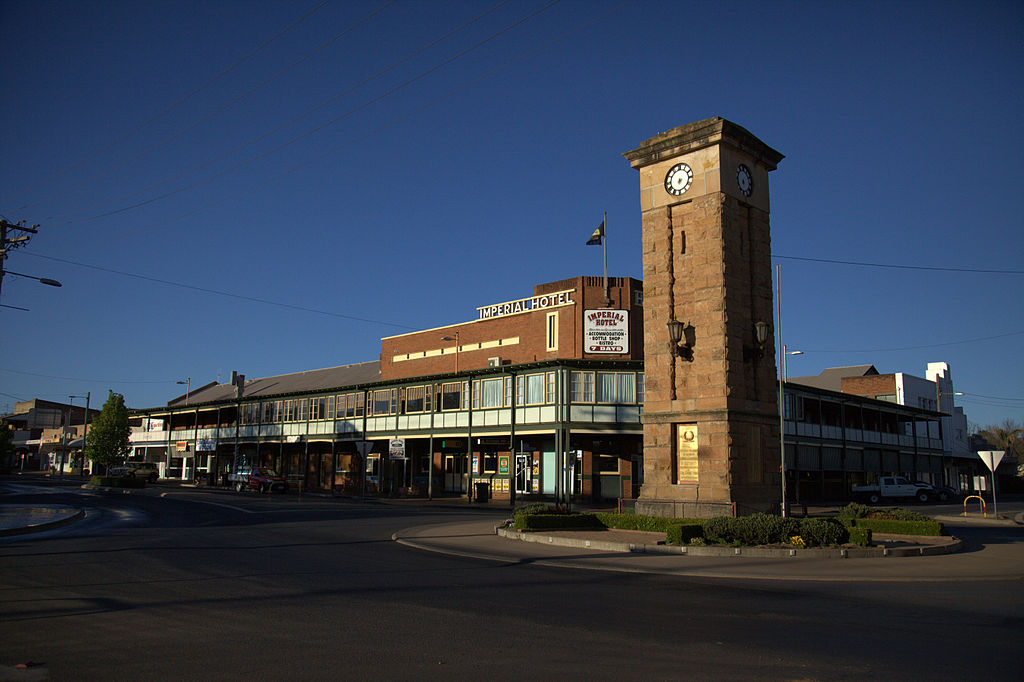 Travel to Kingaroy in Australia   Viajeras