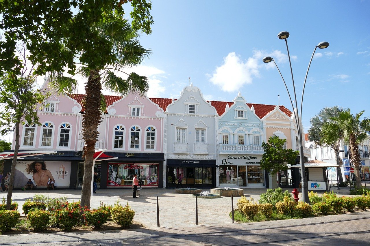 Travel to oranjestad in aruba