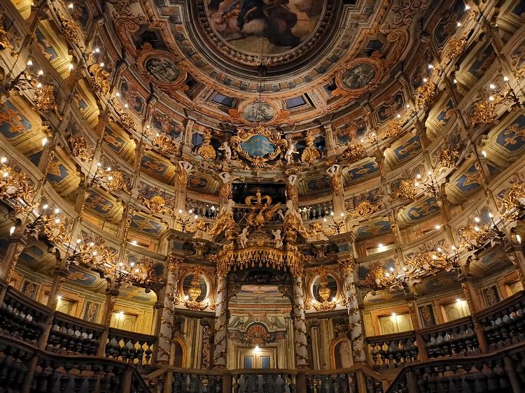 Teatro de Ópera de los Margraves de Bayreuth 1379 Una obra maestra de la arquitectura teatro barroco, construido entre 1745 y 1750