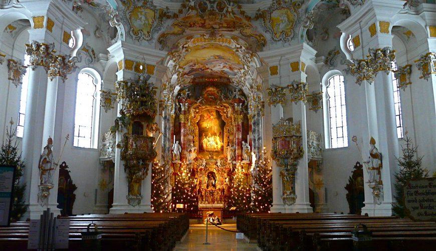Iglesia de peregrinación de Wies | viajeras.com