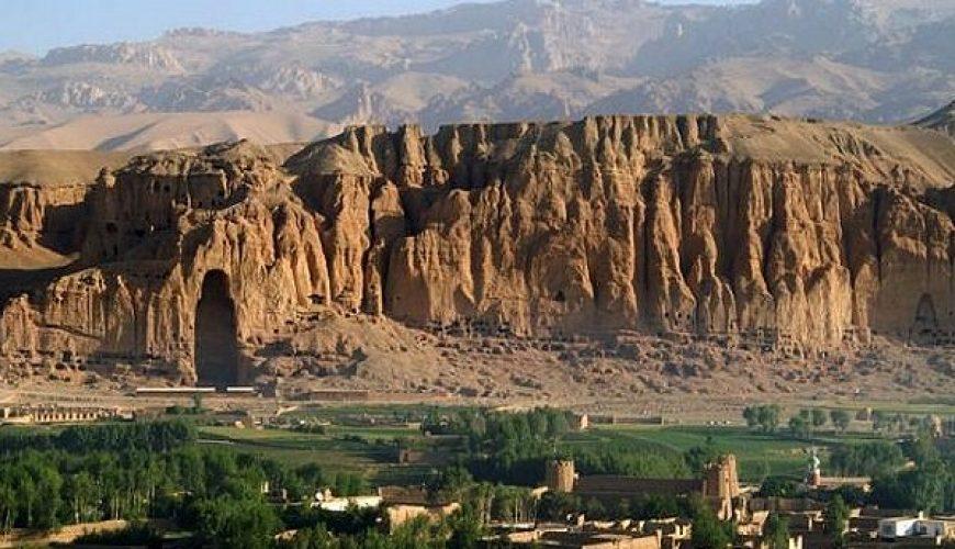 Valle de Bamiyán. Recinto arqueológico